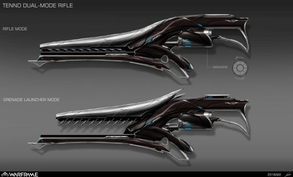Warframe Weapon Design by nobody00000000