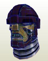 The Sentinel Origins Head PDO by PapercraftKing
