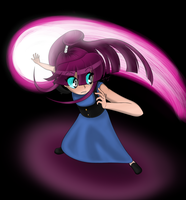 Magic Missile at the Darkness by Tyler-of-the-Oaks
