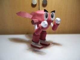 Robo Pit [RB Red] Papercraft by StormL