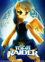 MLP FIM: Daring Do Tomb Raider by hinoraito