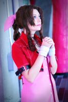 Aerith Gainsborough II by EnchantedCupcake