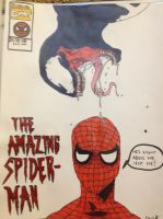 the amazing spiderman by artbaby08