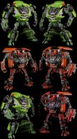Custom ROTF Skids and Mudflap by Solrac333
