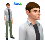 Heinz Doofensmirtz Sims 4 by BentleyNew