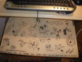 Desk Drawings by Ron4Life