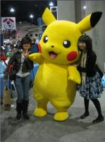 Comic Con '10: Pikachu by ShipperTrish