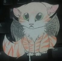 Adoptable - Winged cat by MonsterRage840