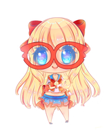 Chibi Sailor V by HotaruAyanami