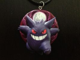 Gengar Necklace by Gatobob