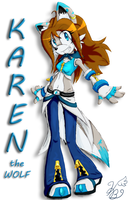 Karen the Wolf is BACK by Aqua-Frost