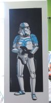 Stormtrooper Commander by Hodges-Art