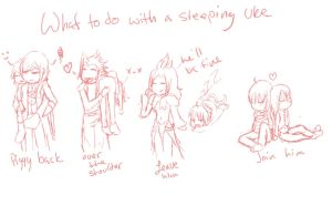 What to do with a Sleeping Uke by Konneh