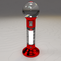 Gum-ball Machine Progress Render by Spiritcrisis