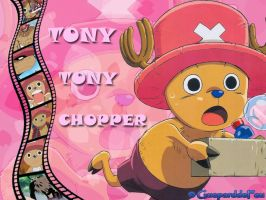 Wallpaper of Tony Tony Chopper by GueparddeFeu