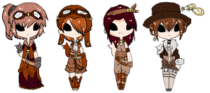 Steampunk Collab Auction .:CLOSED:. by lucidnymphs
