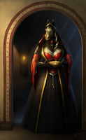 The Priestess [commission] by Storm-Engineer