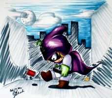 Mysterion the Can-kicker by Snappedragon