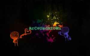 ArCeUsdAZoWn with Stickman-s by ArCeUsdAZoWn