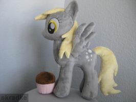 My Little Derpy custom plush by GreenTeaCreations