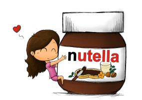 Mi and the Nutella by Orion-Artis