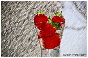 It's Raining Strawberries by Storms-Stock