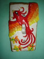 Phoenix Switchplate by Whitey594