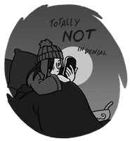 Not in denial. by Arianod