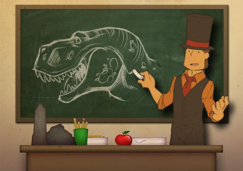 CONTEST:  What's the Professor teaching today? by zillabean
