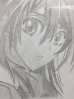 misaki - maid sama by doodlingsketch