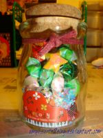 Jar of Lucky Stars by amyhearts2sing