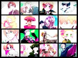 Hetalia Collage by Zinxeon