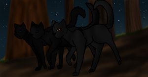 Night Patrol by thekoicat
