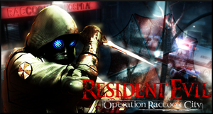 Resident Evil: Operation Racoon City - Vector SIGN by Silas-Tsunayoshi