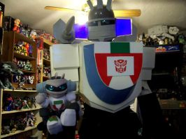 Wheeljack: Now in fun size by Raggletag