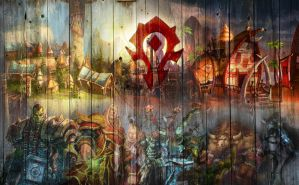 Wallpaper Horde Version by Arixev