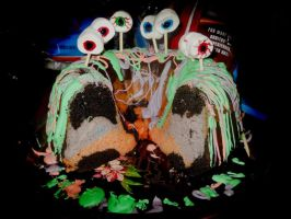 Monster cake. by AmberLynn26