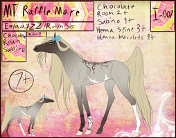 MT Horse I-007 Mare for Raffle by 11IceDragon11