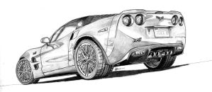 '09 Zr1 by CSwenson-Artistry