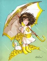 Widdle Mary Marvel by Franchesco