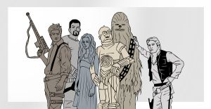 Firefly Star Wars - Colored by HappInesFactory