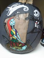 my pumpkin i painted by tattooedmommee