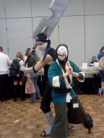 Cosplayers at Nashicon 2011 by Kyuubichowderfan