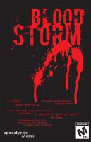 Blood Storm Poster by Fly-Dog