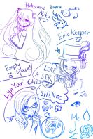 Sketchy Sketches! by EpicKeeper