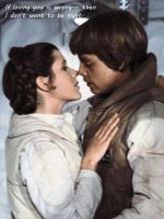 Star Wars - The Kiss by TheSnowman10