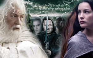 Lotr - Fav Characters by comamber