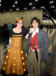 The Doctor and The Dalek by Urvy1A