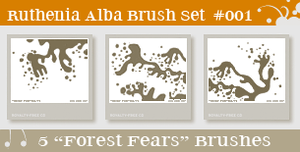 Brushset 01: Forest Fears by Ruthenia-Alba