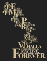 Movie Quote Typography 1 by Karbacca